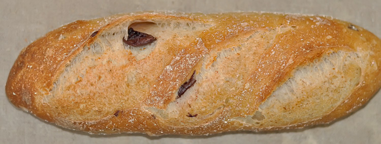 Olive Batard Bread